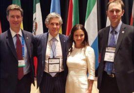 Robert Fry - Canadian Ambassador to Argentina - Robert McEwen - Elena Mayer - James Lusby -Assurance Partner PwC