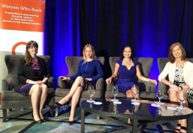 COO Sophie Bertrand, Director of Marketing and Communications, Shauna O'Flaherty, CEO, Elena Mayer, and Deborah Breckles