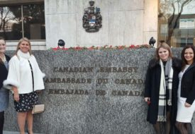 Canadian Embassy in Argentina Goldcorp Anna Tudela VP gender Diversity Gisela Thorton Communications Coordinator