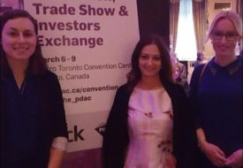 WWR PwC and PDAC Ladies at Media Reception